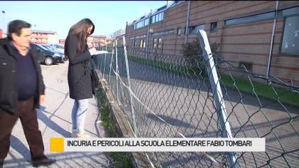 Incuria e pericoli alla scuola elementare Fabio Tombari – VIDEO