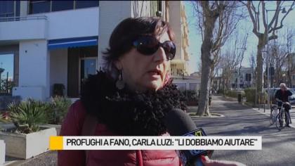 """Profughi a Fano, Luzi (SU): """"Li dobbiamo aiutare"""" – VIDEO"""