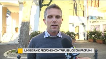 """Profughi a Fano, M5S Fano: """"Accoglienza, ma con intelligenza"""" – VIDEO"""
