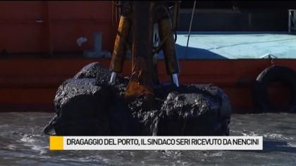 Dragaggio del porto, il Sindaco Massimo Seri ricevuto dal vice Ministro Nencini – VIDEO