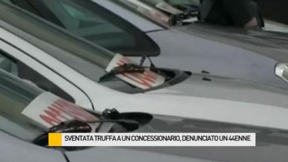 Sventata truffa a un rivenditore di auto, denunciato un 44 enne – VIDEO