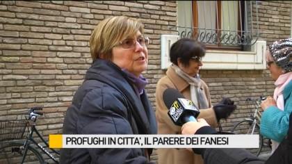 Profughi in città, il parere dei fanesi – VIDEO
