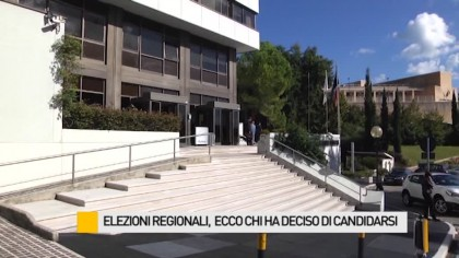 Elezioni regionali, ecco chi ha deciso di candidarsi – VIDEO
