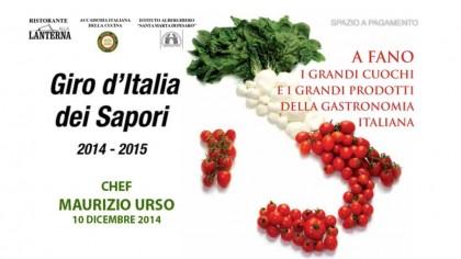 Giro d'Italia dei Sapori – Chef Maurizio Urso