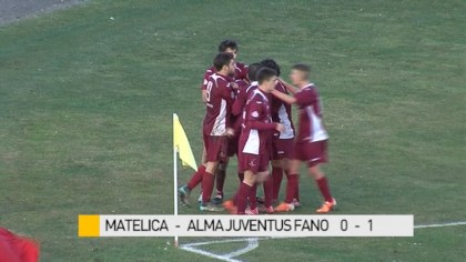 Matelica – Alma Juventus Fano 0-1 – VIDEO