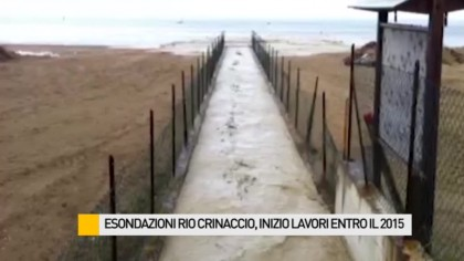 Esondazione Rio Crinaccio, inizio lavori entro il 2015 – VIDEO
