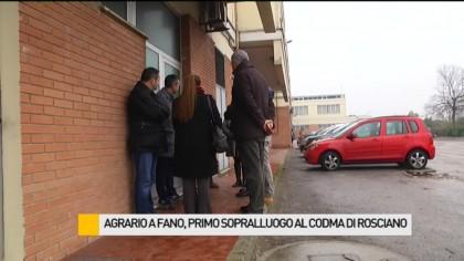Agrario a Fano, primo sopralluogo al Codma di Rosciano – VIDEO