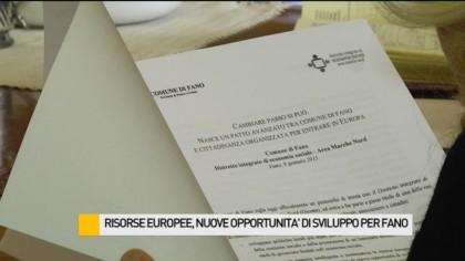 Risorse Europee, nuove opportunità di sviluppo per Fano – VIDEO