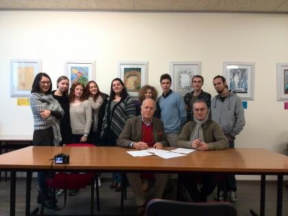 Firmata la convenzione tra il Centro Studi Vitruviani e il Liceo Scientifico Torelli