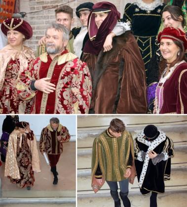 """I """"nobili Petrucci"""" invitano il Vescovo Trasarti e il sindaco Seri all'evento organizzato dall'Olivetti"""