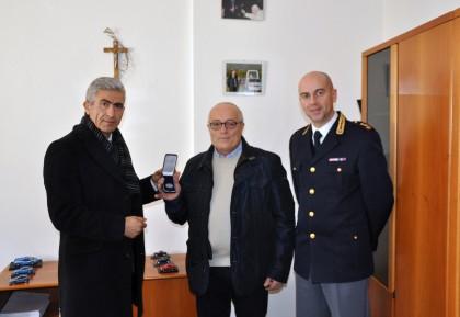 Medaglia d'argento al Commissario del ruolo speciale della Polizia di Stato Valentino Palazzi
