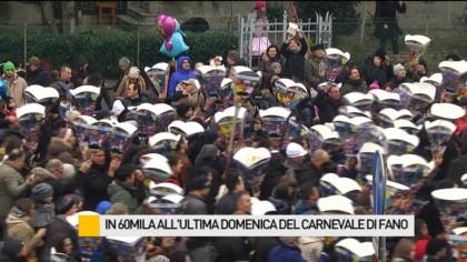 In 60mila all'ultima domenica del Carnevale di Fano – VIDEO