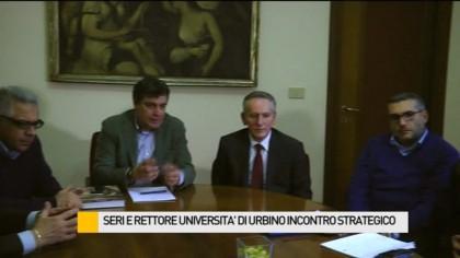 Seri incontra il rettore dell'Università di Urbino – VIDEO
