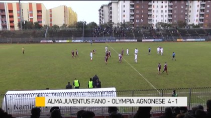 Alma Juventus Fano – Olympia Agnonese    4-1 – VIDEO