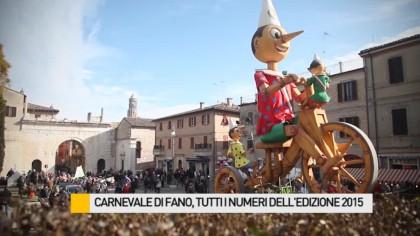 Carnevale di Fano, tutti i numeri dell'edizione 2015 – VIDEO