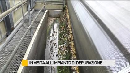 II Commissione in visita all'impianto di depurazione delle acque reflue – VIDEO