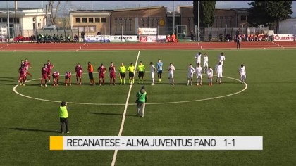 Recanatese – Alma Juventus Fano    1-1 – VIDEO