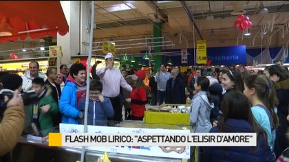 "Flash Mob lirico ""Aspettato l'Elisir d'Amore"" – VIDEO"