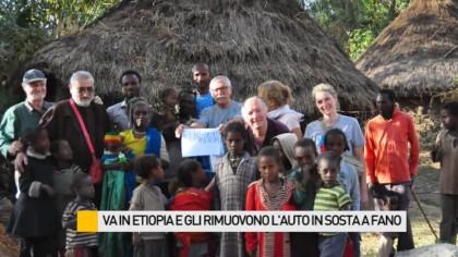 Mentre è in Etiopia gli rimuovono l'auto in sosta a Fano – VIDEO