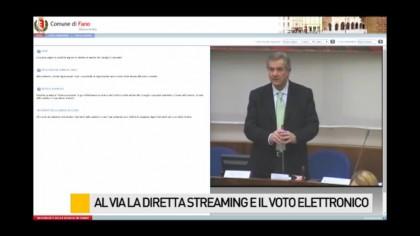 Al via la diretta streaming e la votazione elettronica – VIDEO