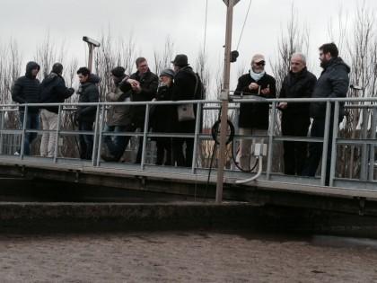 """2^ Commissione in visita al depuratore di Ponte Metauro, Aset: """"Un segnale di attenzione"""""""