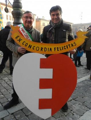 Luciano Cecchini e Massimo Seri