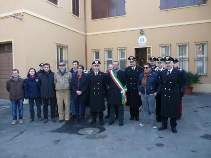 Borgo Santa Maria, rinnovata la stazione dei carabinieri