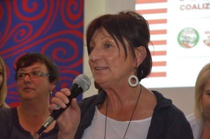 Le donne di sinistra difendono Carla Luzi e attaccano i media, usano un linguaggio sessista