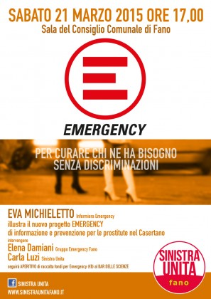 Sinistra Unita incontra Emergency in Municipio