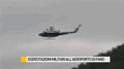 Esercitazioni militari all'aeroporto di Fano. In azione le forze speciali dell'Aeronautica – VIDEO
