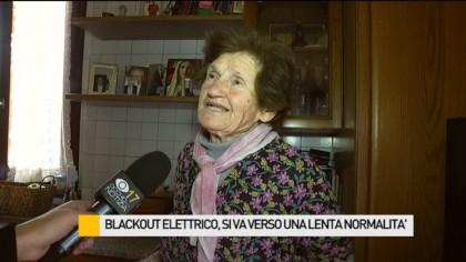 Blackout elettrico, si va verso una lenta normalità – VIDEO