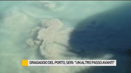 """Dragaggio del porto, Seri: """"Un altro passo avanti"""" – VIDEO"""