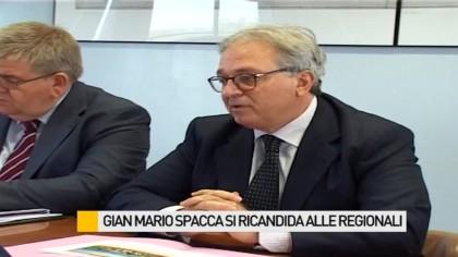 Gian Mario Spacca si ricandida alle regionali. Il parere delle varie parti politiche – VIDEO