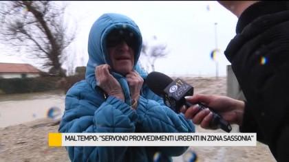 """Maltempo: """"Servono provvedimenti urgenti in zona Sassonia"""" – VIDEO"""