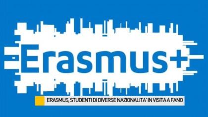 Erasmus, studenti di diverse nazionalità in visita a Fano – VIDEO
