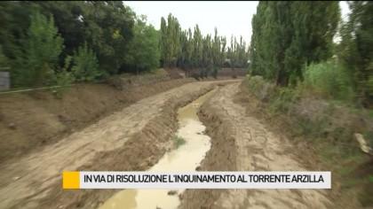 In via di risoluzione l'inquinamento al torrente Arzilla – VIDEO