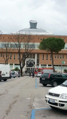 Maltempo, copertura del Tribunale di Pesaro a rischio. Strade chiuse