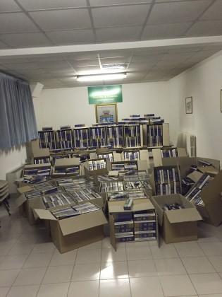 Sequestrati oltre 500kg di sigarette di contrabbando. Denunciato anche un fanese – VIDEO