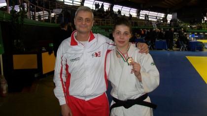 Ancora un podio tricolore per il Judo Club Fano con Elena Pedaletti