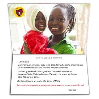"""8 marzo, KIT """"Festa della Donna"""" per mantenere l'attività di un'ostetrica in Zambia"""