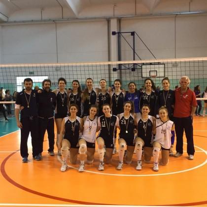 Volley Pesaro U18 campione provinciale