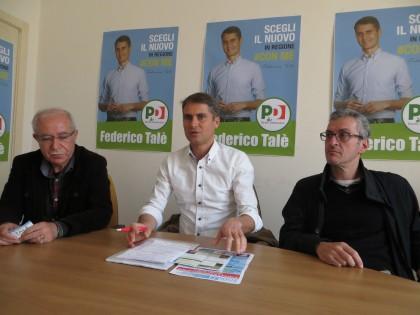 Federico Talè presenta la sua candidatura alle regionali