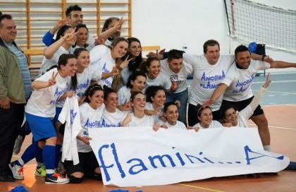 Calcio a 5 femminile, la Flaminia torna in serie A