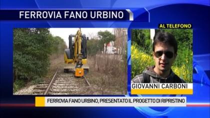 Ferrovia Fano Urbino: livello del binario innalzato fino a 5,30 metri – VIDEO