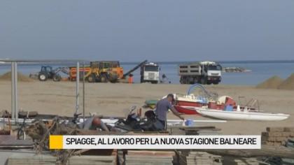 Spiagge, al lavoro per la nuova stagione balneare – VIDEO