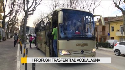 I profughi trasferiti ad Acqualagna – VIDEO