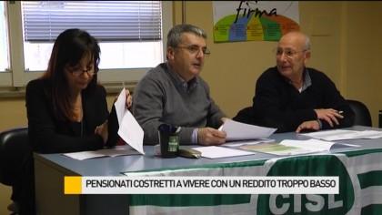 Pensionati costretti a vivere con 400 euro – VIDEO