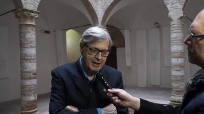 """Ferrovia Fano Urbino, Sgarbi: """"L'errore è stato disattivarla"""" – VIDEO"""