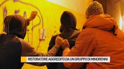 Ristoratore aggredito da un gruppo di minorenni – VIDEO