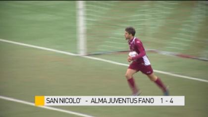 Gli highlights di San Nicolò-Alma Juventus Fano